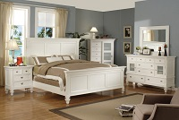 Adelaide White Bedroom Set