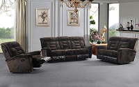 Champion Recliner Fabric Sofa Set