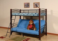 MEG-43009 Wooden Post Bunk Bed