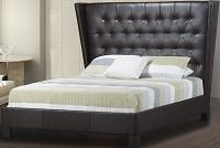 R-167BL Upholstered Bed