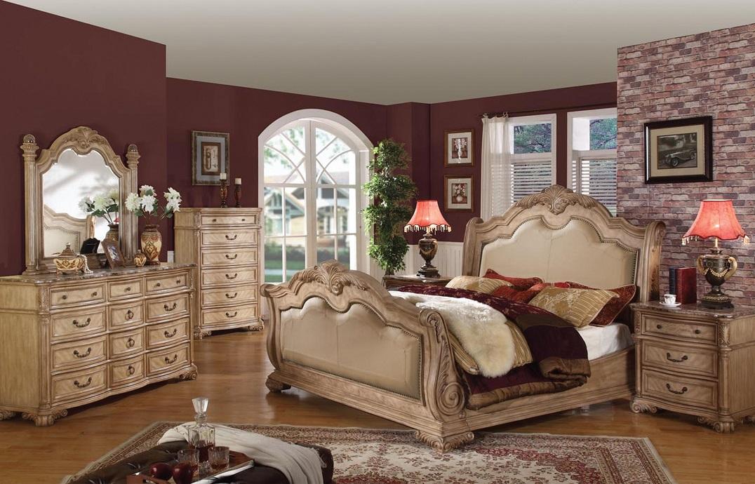 Antique White Bedroom Furniture at Home and Interior Design Ideas