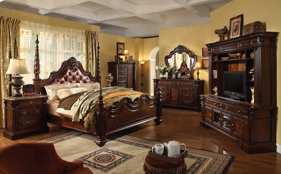 Cherry Bedroom Furniture Traditional traditional bedroom furniture sets > pierpointsprings
