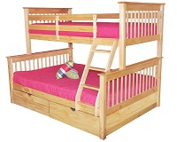 GRE-4041N Wooden Bunk Bed
