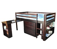 GRE-4545E Loft Bunk Bed