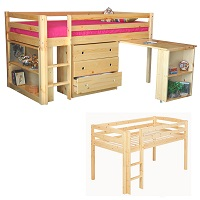 GRE-4545N Loft Bunk Bed