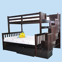 GRE-4740 Wooden Step Bunk Bed