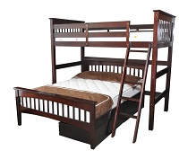 GRE-4800E Loft Bunk Bed