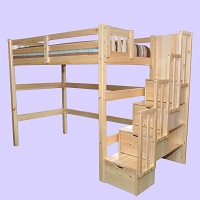GRE-4900N Loft Bunk Bed