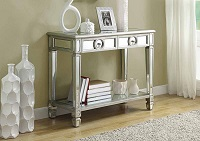I-3700 Mirrored Console Table