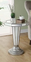 I-3704 Mirrored Plant Stand