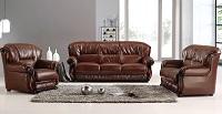 Karma Leather Sofa Set