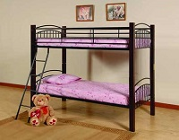 MEG-43008 Wooden Post Bunk Bed