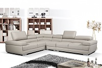 Major Leather Sectional