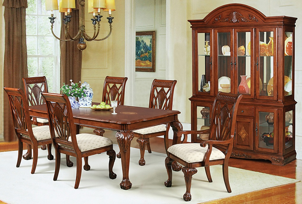 Dining room furniture melbourne melbourne tobacco 5 pc for Dining room 211 melbourne