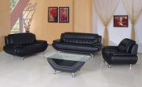 Naja Leather Sofa Set