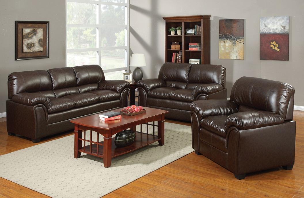 Nest Leather Sofa Set - Furtado Furniture