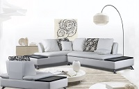 Nicki Leather Sectional