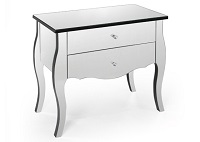 RST-LD-0088 Mirrored Night Table