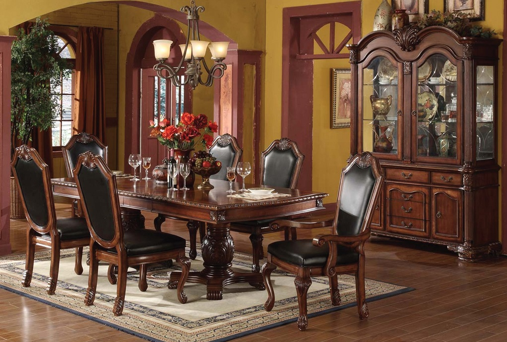 ruby leather dining room furtado furniture