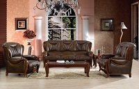 Smitten Leather Sofa Set