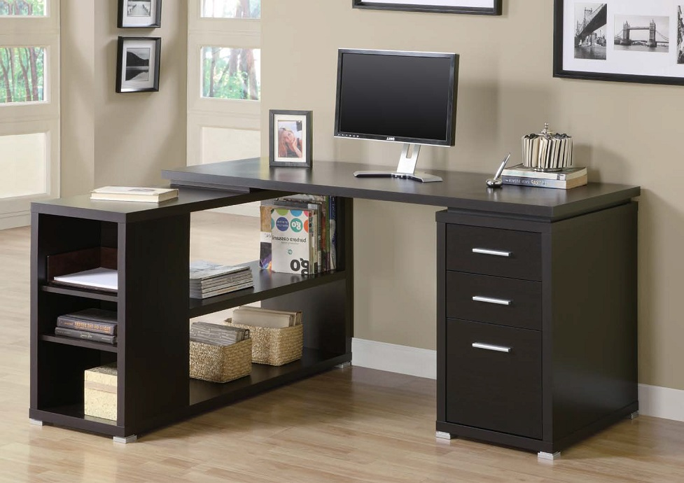 Small L Shaped Computer Desk With Hutch