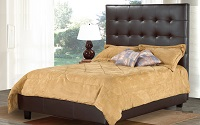 R-161 Upholstered Bed