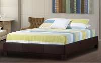 R190 Upholstered Platform Bed