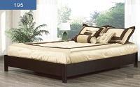 R-195 Wooden Platform Bed