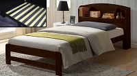 INT-IF411 Wooden Bed