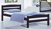 INT-IF413 Wooden Bed