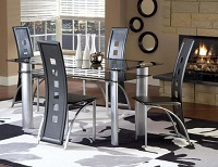 INT-IF5060 Glass Dinette