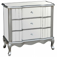 STA-ST105 Mirrored Night Stand