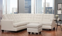 AC-2424 Leather Sectional