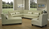 AC-2690 Fabric Sectional