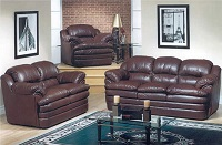 AC-5700 Leather Sofa Set