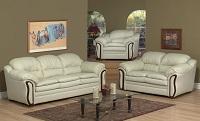 AC-6950 Leather Sofa Set