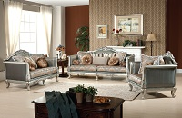 Anji Fabric Sofa Set