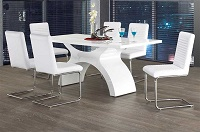 INT-IF1040W-B Modern Dining Table