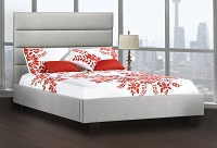R-162 Upholstered Bed