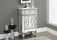 I-3707 Mirrored Night Table