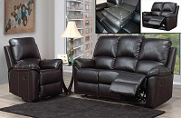 INT-IF8092 Leather Recliner Sofa Set