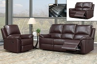 INT-IF8094 Leather Recliner Sofa Set