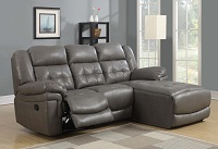 I-8196 Leather Recliner Lounger