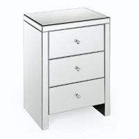 RST-LD-2470 Mirrored Night Table