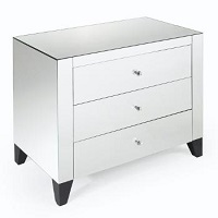 RST-LD-2575 Mirrored Night Table