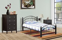 T-2320 Single Metal Bed