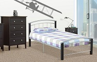 T-2330 Single Metal Bed