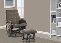 I-7253 Recliner Chair With Ottoman