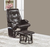 I-7273 Recliner Chair With Ottoman