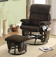I-7284 Recliner Chair With Ottoman